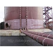 Проектирование и монтаж систем антиоблединения и обогрева резервуаров и ёмкостей фото