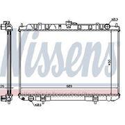 Радиатор охлаждения двигателя 2.2 дизель (Nissens Ava) Nissan X-Trail T30