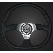 Руль виниловый с эмблемой под карбон RS-00838