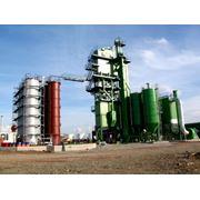 Асфальтобетонный завод башенного типа фото