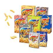 Сладкие кукурузные палочки с разными вкусами фото