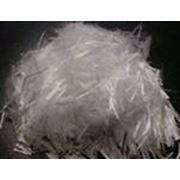 Фиброволокно полипропиленовое мультифиламентное резка 12 мм фото