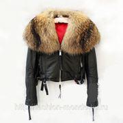 Куртка кожа DSQUARED 2012 фото