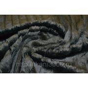 Мех фактурный черный фото