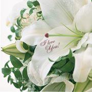 Наклейки на живые цветы фото
