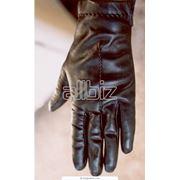 Перчатки кожаные фото