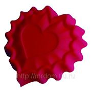 """Ф-ма д/выпечки """"валентинка"""" silicone 25,5х24х3,5 см, regent"""" (693504) фото"""