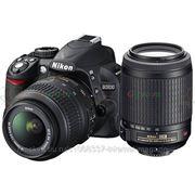 Зеркальный фотоаппарат Nikon D3100 kit 18-55VR 55-200VR фото