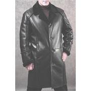 Мужские пальто из натуральной кожи фото