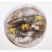 Две птички в гнезде 13 см фото