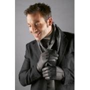 Мужские кожаные перчатки фото