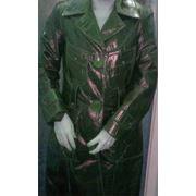 Пальто кожаное женское фото