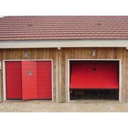 Автоматические подъемно-поворотные гаражные ворота Silvelox фото