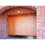 Ворота рулонные гаражные фото