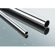 Труба нержавеющая полированная 42,4*1,5 мм зеркало AISI 201 ТНЗ-42 (201) фото