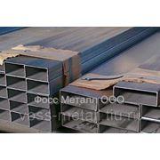 Трубы сварные прямоугольные, матовые, AISI 304 80х20х2,0х6000 мм фото