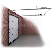 Секционные ворота фото