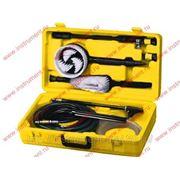 Набор аксессуаров для моек высокого давления (щетки, насадки, коннекторы, шланги) // Denzel 58292 фото