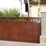 Ворота откатные Premium фото