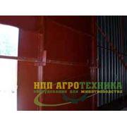 Производство ворот распашных металлических фото