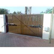 Распашные ворота в тольятти железные ворота из профнастила на дачу