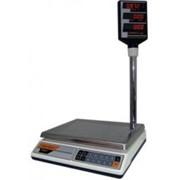 Весы торговые электронные. Многофункциональные торговые весы ВР-05МС-СР фото
