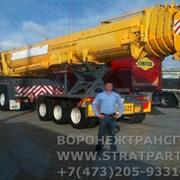 Аренда автокран 120 тонн в Воронеже, Тамбове и ЦФО фото
