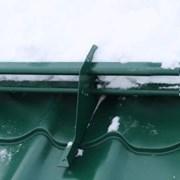Снегозадержатель трубчатый Grand Line RAL 6005 3м фото