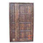 Межкомнатная дверь из массива бука Кавказский Лес, белая