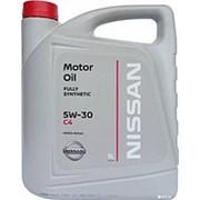 NISSAN 5W30 (5л) SL масло моторное синтетическое. фото