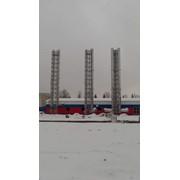 Высотный монтаж дымоходов фото