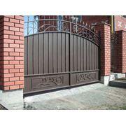 Ворота распашные артикул вр-8 фото