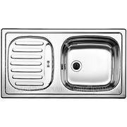 Blanco FLEX mini Кухонная мойка врезная оборачиваемая, расположение крыла возможно слева или справа, нержавеющая сталь матовой полировки, 511918 фото