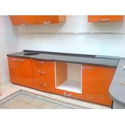 Кухонные мойки интегрированные в столешню фото