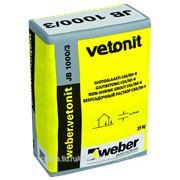 Weber Ветонит JB 1000/3 безусадочный раствор (25 кг)