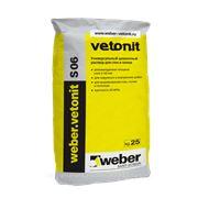 Цементный раствор weber.vetonitS 06 25кг. фото