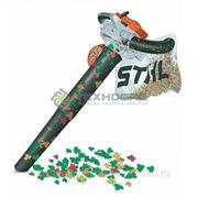 Всасывающий измельчитель SH 86 Stihl-Рабочий объем-27.2 см3,вес 5.7 кг фотография