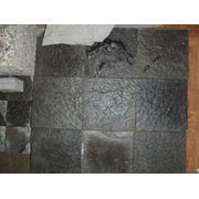 Шунгит (рваный камень и плитка) фото