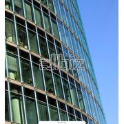Фасад из алюминиевого профиля фото