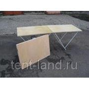 Торговый стол складной 1,8*0,6 (6мм, усиленный) фото