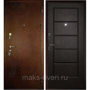 Входная металлическая дверь ЮГ ВЕНГЕ ТЕМНЫЙ