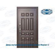 Дверь внутренняя металлическая правая Форпост 2 замка В-1 63мм проем-860х2050мм фото