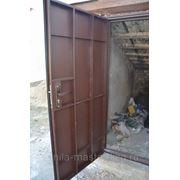 Дверь металлическая холодная фото