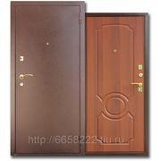 Дверь металлическая ЮГ-03 Итал. Орех фото
