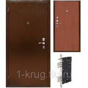 Дверь входная уличная теплая металлическая ДОРО 3 фото