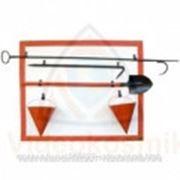 Щит метал.открытый (в комплекте) - Щит пожарный металлический открытый (в комплекте) фото