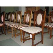 Mese si scaune din lemn фото