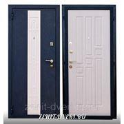 Модель стальной входной двери ЗЕНИТ-6 (БЕЛЕНЫЙ ДУБ) фото