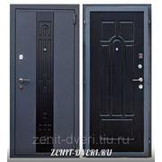 Модель стальной входной двери ЗЕНИТ-6 (ВЕНГЕ) фото