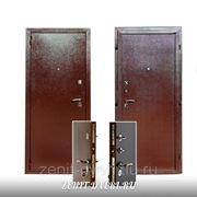 Модель стальной входной двери ЗЕНИТ-7 (ДЛЯ ДАЧИ) фото
